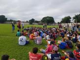 Maracaju: Mais de 500 crianças e adolescentes fazem teste para avaliação técnica de futebol
