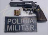 Maracaju: Polícia Militar prende homem por disparo de arma de fogo e posse irregular de aram de fogo de uso permitido
