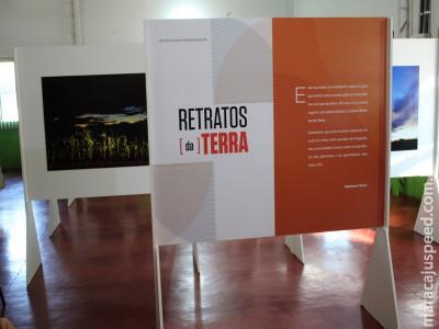 Maracaju recebe exposição fotográfica Retratos da Terra