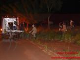 Maracaju: Mulher se enroscou em arame farpado após cair de motocicleta na Juquita