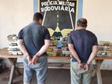 Maracaju: PMR prende 02 homens com mais de 100 Kg de maconha que seria levada à capital baiana