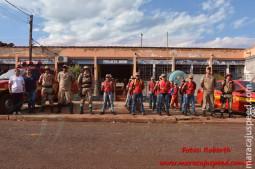 Maracaju: Projeto Bombeiros do Amanhã encerram atividades do Primeiro Semestre com acampamento