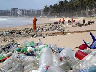 Ministério do Meio Ambiente investe R$ 2,1 milhões para limpar as praia