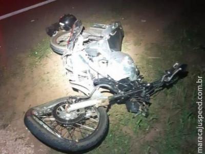 Motociclista morre após colisão com carreta na BR-163