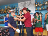 Secretaria de Esportes de Maracaju fez homenagem a Adolfo Garcete
