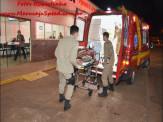 Maracaju: Bombeiros e Polícia militar atendem ocorrência de esfaqueamento na Vila Do Ovídeo