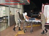 Maracaju: Homem é esfaqueado por dupla em motocicleta no conjunto Olídia Rocha