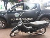 Maracaju: Polícia Militar recupera motocicleta furtada e apreende adolescentes por receptação