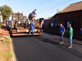 Prefeito Municipal Maurílio Ferreira Azambuja visita obras no Conjunto Porto Belo em Maracaju