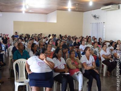 Violência contra idoso teve palestra no Conviver em Maracaju
