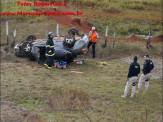 Maracaju: Corpo de Bombeiros atendem ocorrência de capotamento na BR-267