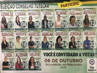 CMDCA/Maracaju– Realiza eleições para novos Conselheiros Tutelares mandato 2020/2024