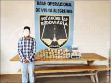 Maracaju: Polícia Militar Rodoviária apreende 10 kg de cocaína e 56 kg de maconha em veículo que seguia para Campo Grande