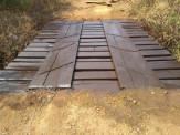Prefeitura de Maracaju recupera ponte na região do Assentamento Valinhos