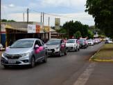 Maracaju: A chuva atrapalhou mais não tirou o brilho da abertura oficial do Outubro Rosa