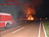 Maracaju: Corpo de Bombeiros atendem ocorrência de fogo em vegetação as margens da Rodovia BR-267