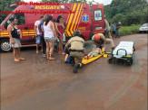 Maracaju: Criança de apenas 9 anos de idade se envolve em acidente com motocicleta