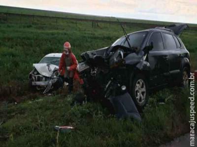 Colisão frontal em rodovia deixa uma pessoa morta