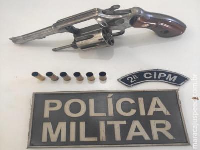 Maracaju: Mulher se joga do interior de carro ao ver viatura da Polícia Militar e pede socorro. Um dia após autor é preso por Disparo de Arma de Fogo e Porte Ilegal de Arma de Fogo de Uso Permitido