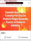"""Maracaju: Rapaz que empinava motocicleta e se gabava nas redes sociais """"Caneta Azul – Azul Caneta foi oq os Polícia pego quando Rastei a Rabeta KKKKKK"""" foi """"PEGO"""" pelos polícia"""
