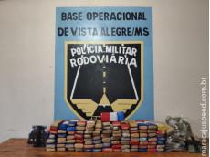 Operação Hórus/MS - Maracaju: Polícia Militar Rodoviária prende quadrilha que transportava 93 kg de maconha para o MT