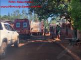 Maracaju: Corpo de Bombeiros atendem ocorrência de incêndio em residência no Conjunto Egídio Ribeiro