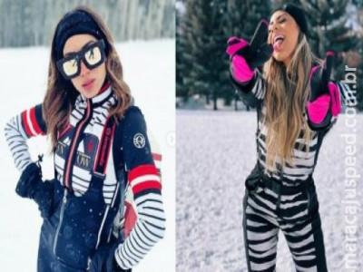 Anitta e Lexa viveram romance durante viagem a Aspen, segundo jornal