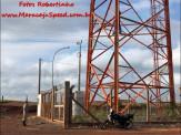 Maracaju: Bombeiros atendem ocorrência de tentativa de suicídio. Autor/vítima de 35 anos de idade ameaçava pular da torre da PRF as margens da rodovia BR-267