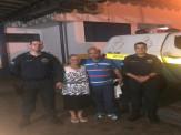 Policiais da PMRv salvam vida de condutor de caminhão, após acidente na Rodovia MS-040 em Campo Grande