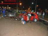 Maracaju: Colisão frontal entre veículos na Rua Joaquim F. de Azambuja, resulta no óbito de uma pessoa