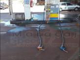 """Maracaju: Homem é preso por tentar incendiar """"Posto de Combustível"""" e a si mesmo com combustível"""