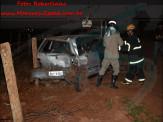 Maracaju: Corpo de Bombeiros atendem acidente de colisão entre veículos na rodovia MS-162