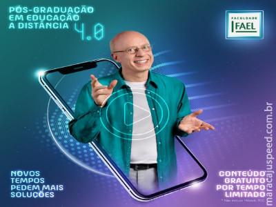 Maracaju: Faculdade FAEL disponibiliza gratuitamente para professores conteúdo de curso de Pós-Graduação em Ensino a Distância