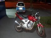 Maracaju: Polícia Militar recupera motocicleta furtada na Capital Campo Grande e prende condutor por receptação