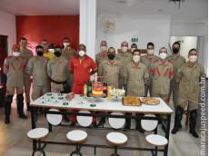 Corpo de Bombeiros acorda população de Maracaju com