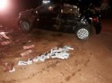 Carro lotado de cigarro e essências cai em rio e motorista morre afogado