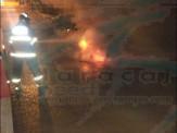 Maracaju: Bombeiros extinguem chamas de veículo em possível incêndio criminoso