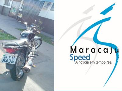 Maracaju: Policiais Militares perseguem dupla em motocicleta, após autores não acatarem ordem para pararem