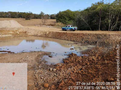 Proprietário de fazenda é autuado por construir represa em área ilegal e provocar incêndio em vegetação