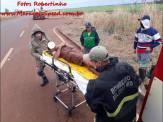Maracaju: Bombeiros salvam adolescente de 15 anos que ficou por cerca de três dias as margens de rodovia. Jovem estava com hipotermia e gritava por socorro