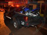 Maracaju: Dupla em motocicleta afronta autoridades policiais, acelerando motocicleta e cortando giro, defronte ao portão da Polícia Militar e em frente a Polícia Civil