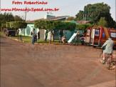 Maracaju: Colisão entre caminhonete e motociclista na Vila Juquita, resulta em motocicleta destruída e uma vítima com fraturas