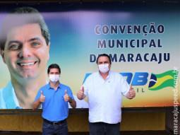Parceria entre PSDB e DEM define Marcos Calderan e Maurão da Boa Vista para disputa no executivo em Maracaju