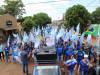 Onda Azul toma conta de Maracaju