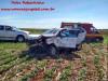 Maracaju: Corpo de Bombeiros atendem capotamento de veículo na BR-267