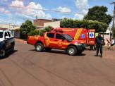 Maracaju: Jovem mulher ciclista que se envolveu em acidente com carreta bi trem é encaminhada em estado grave para unidade médica da capital
