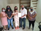 SIMTREMA - Sindicato Municipal de Maracaju Trabalhadores em Educação esteve reunida com os candidatos a prefeito