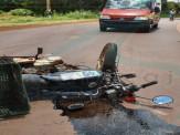 Maracaju: Motociclista se envolveu em acidente com carreta na BR-267