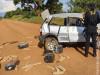 Maracaju: Veículo capotado com mais de meia tonelada de maconha foi apreendido pelo DOF