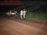 Maracaju: Corpo de Bombeiros e Polícia Militar atendem ocorrência de acidente de colisão na rodovia MS-162